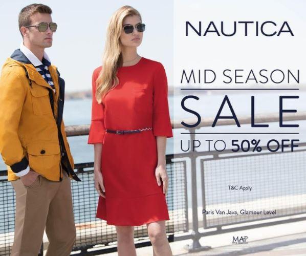 Mid Season Sale from Nautica