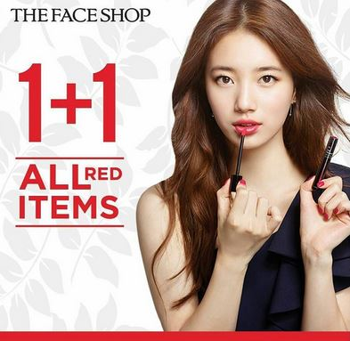 Buy 1 Get 1 Free at The Face Shop</h3>