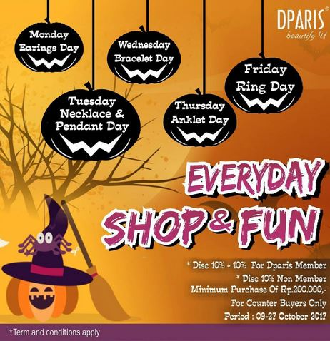 Shop & Fun Promotion at D'Paris</h3>