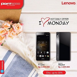 Lenovo Discount Up to 30% at Point 2000</h3>