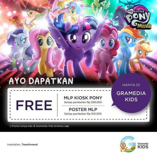 Free Promotion Attractive Gift from Gramedia Kids</h3>