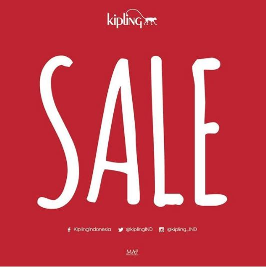 Mid Season Sale up to 50% from Kipling</h3>