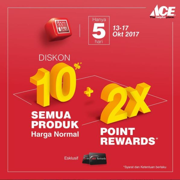 Discount 10% from Ace Hardware</h3>