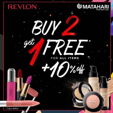 Revlon Promotion at Matahari