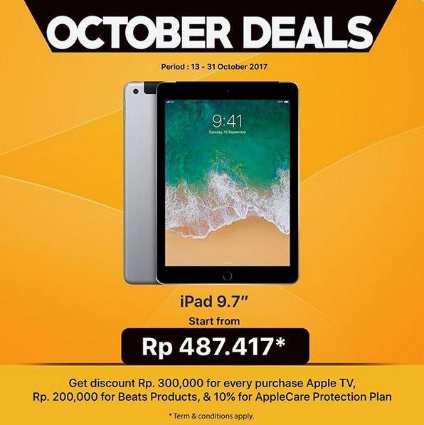 iPad Promotion at Global Apple