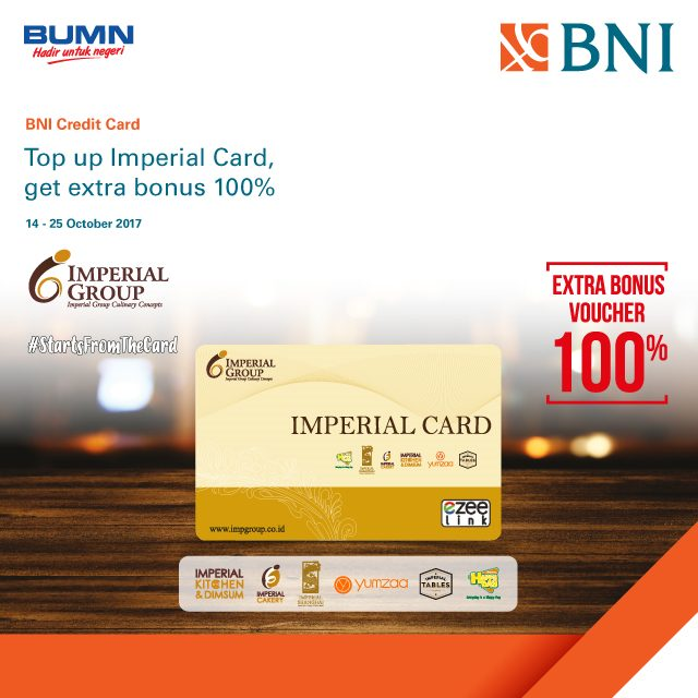 Extra Bonus Voucher from Imperial Group