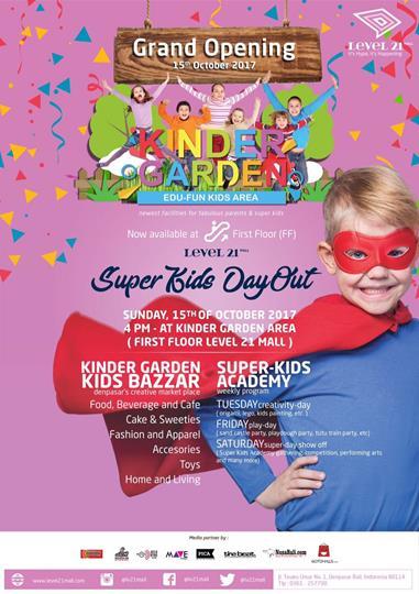 Kinder Garden Edu-Fun Kids Area di Mall Level 21