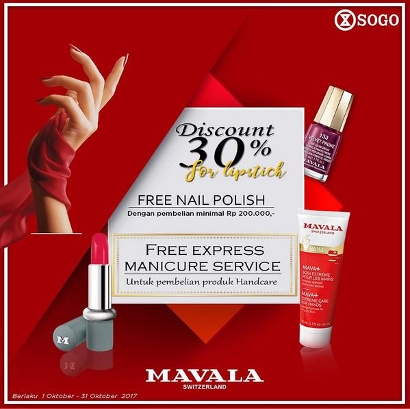 Discount Up to 30% at Sogo