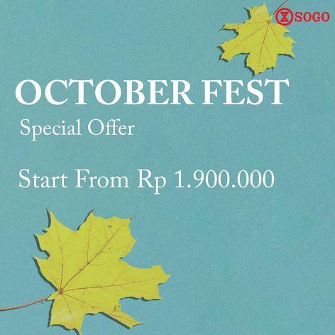 Special Price at Sogo