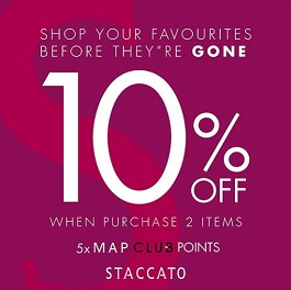 Special Promo from Staccato
