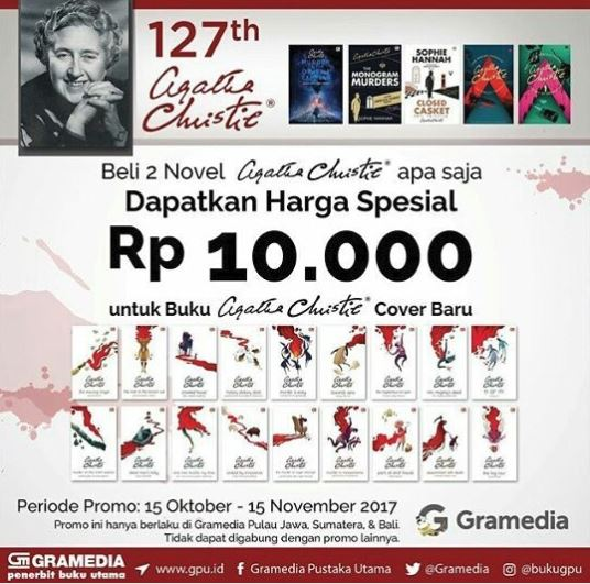 Special Price Rp 10.000 from Gramedia