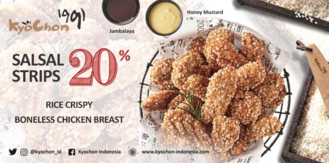 Discount 20% from Kyochon