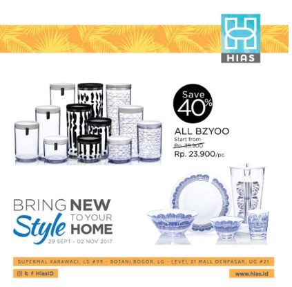 Get BZYOO discount from Hias