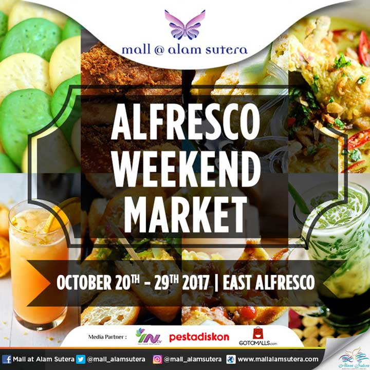 Alfresco Weekend Market di Mall @ Alam Sutera