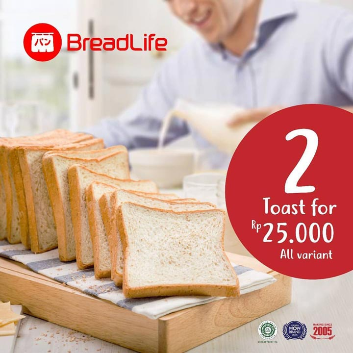 Special Promotion from Breadlife