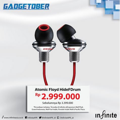 Earphone Promotion at Infinite