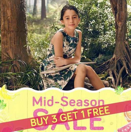 Mid Season Sale Promotion from Gingersnaps