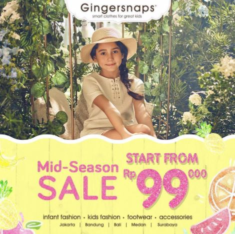 Special Price Promotion from Gingersnaps