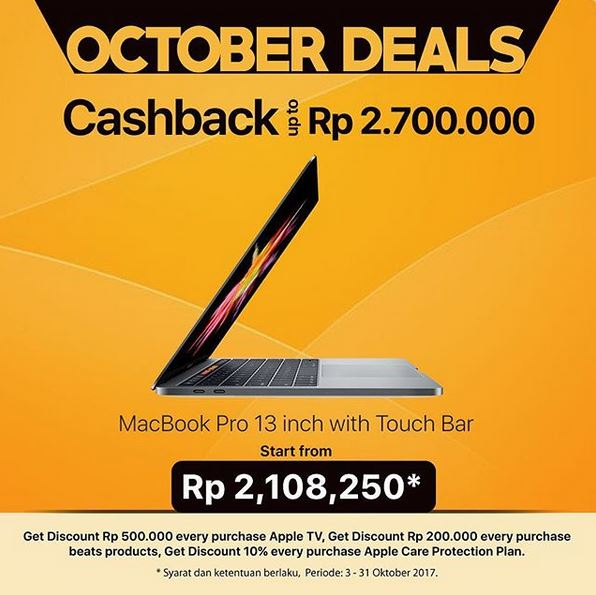 MacBook Promotion at Global Apple