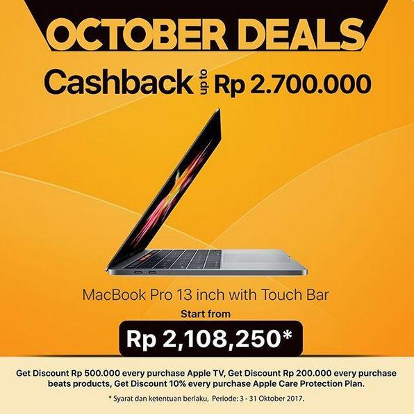 Promosi MacBook di Global Apple