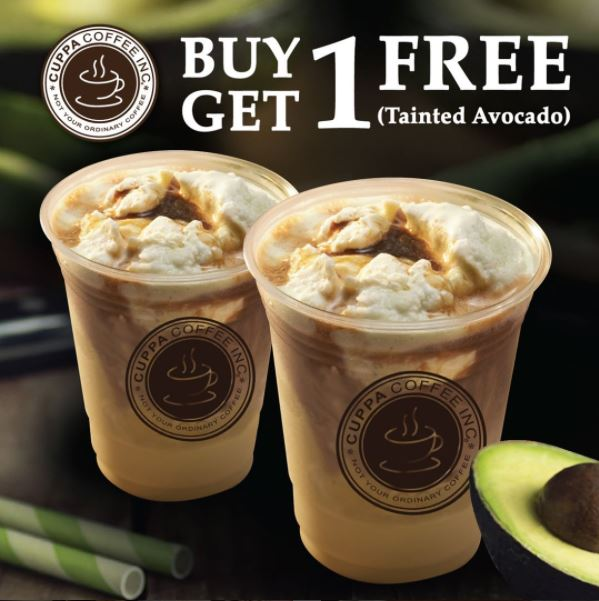 Buy 1 Get 1 Free from Cuppa Coffee