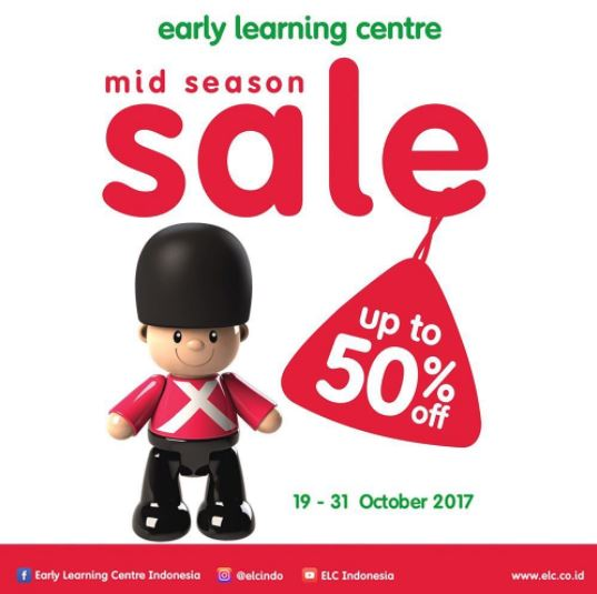 Mid Season Sale up to 50% from Early Learning Center