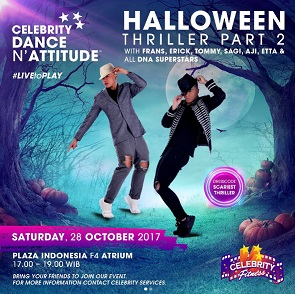 Halloween Thriller Part 2 at Celebrity Fitness Plaza Indonesia