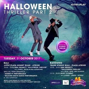 Celebrity Fitness Halloween Thriller Part 2