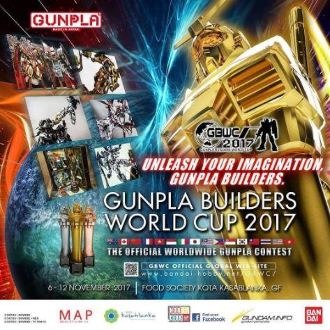 GUNPLA Build World Cup 2017 in Kota Kasablanka