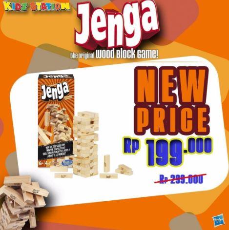 Jenga Special Price Promotion at Kidz Station
