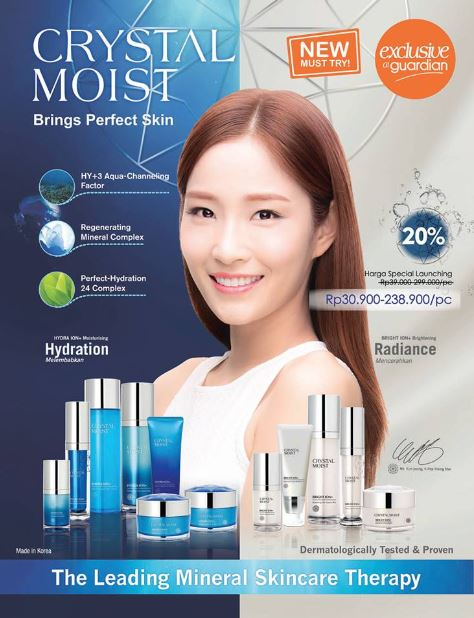 Crystal Moist Promotion at Guardian