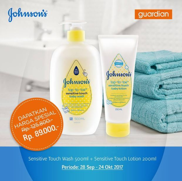Promosi Johnsons di Guardian