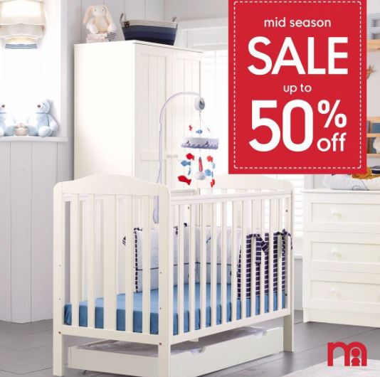 Discount 50% Baby Bed at Mothercare