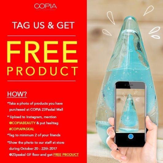 Free Product from Copia at 23 Paskal Bandung