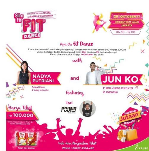 Slim & Fit By Kalbe Nutritionals at Epiwalk Mall