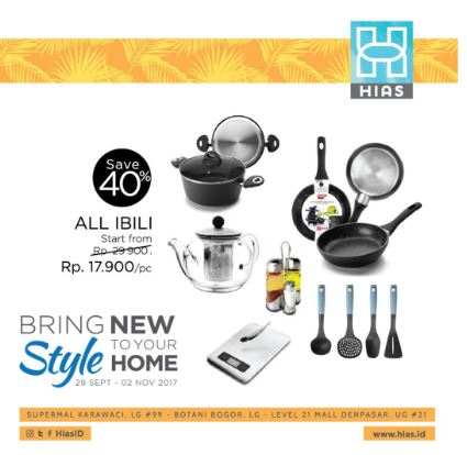 Get 40% Discount for Ibili in Hias