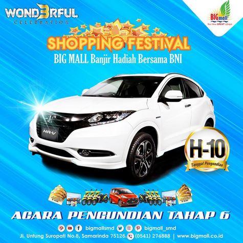 Shopping Festival 6 at Big Mall Samarinda