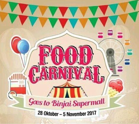Food Carnival at Binjai Supermall