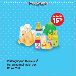 Discount 15% from Toys Kingdom