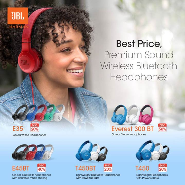 Discount Up to 50% from JBL at Gandaria City