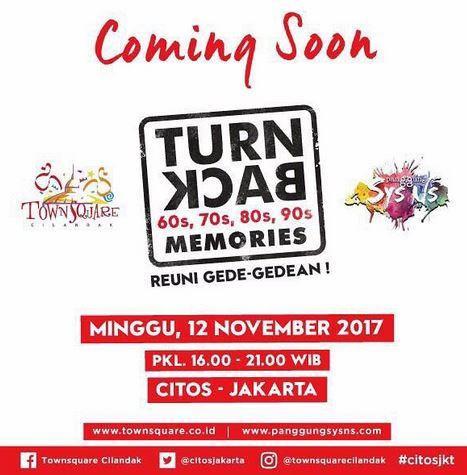 Turn Back Memories at Cilandak Town Square