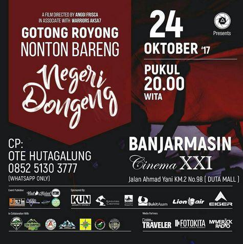 Gotong Royong at Duta Mall Banjarmasin