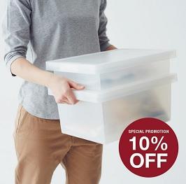 PP Box Discount 10% from MUJI