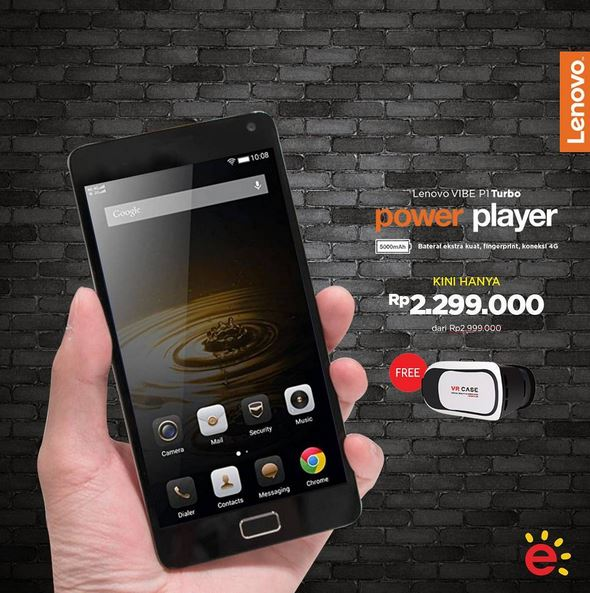 Promotion Lenovo VIBE P1 Turbo from Erafone
