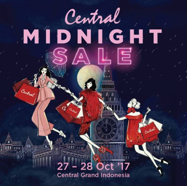 Central Midnight Sale At Grand Indonesia Grand Indonesia