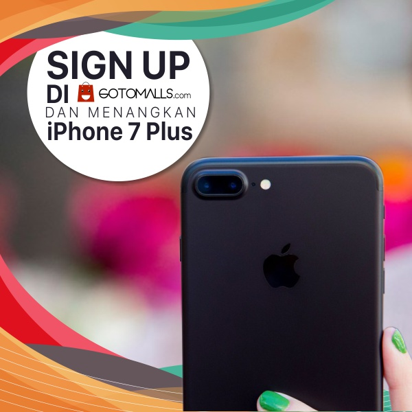 Win a iPhone 7 Plus 128GB from Gotomalls
