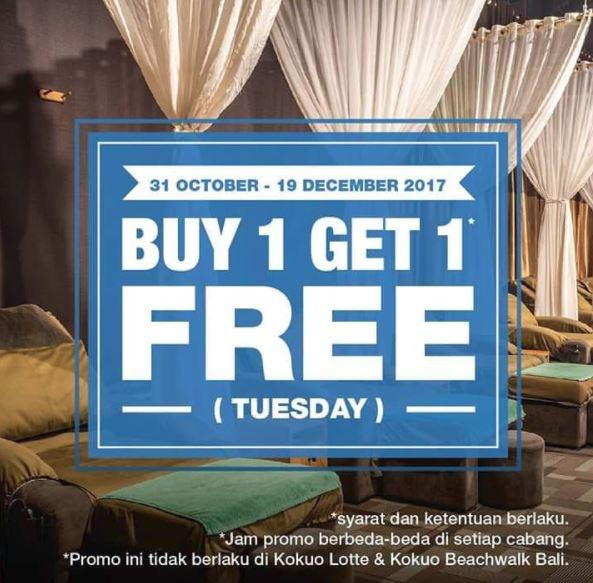 buy 1 get 1 free from kokuo reflexology fx sudirman