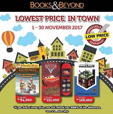 Lowest Price Promo at Books & Beyond