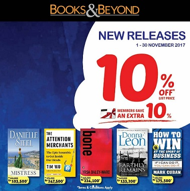 10% + 10% Promo Discount at Books & Beyond