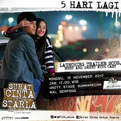 Launching Trailer Meet And Greet Surat Cinta Untuk Starla